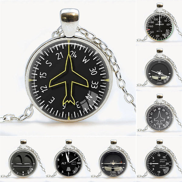 Yes We Can Fly Aircraft Instrument Indicator Necklace