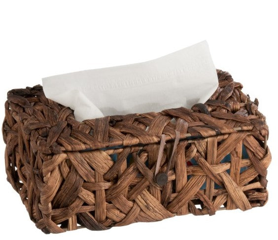 Tissue Box Reed Chestnut Brown