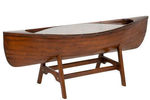 japanies food serving table boat shape wood made