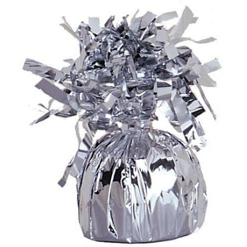 Balloon Weight Foil Silver #104939 - Pack of 6
