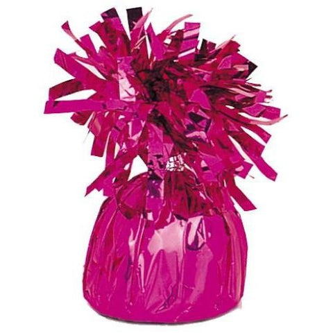 Balloon Weight Foil Hot Pink #104947 - Pack of 6