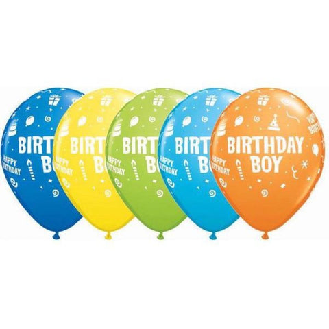 28cm Round Special Assorted Birthday Boy #11677 - Pack of 50