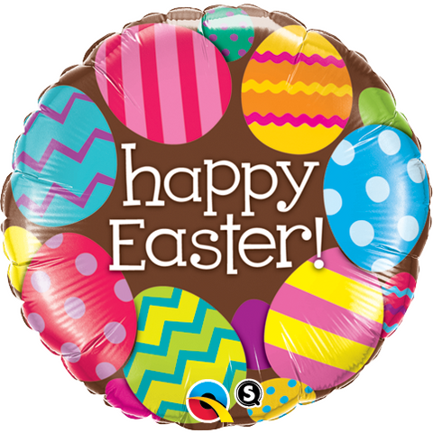 45cm Round Foil Easter Eggs & Chocolate #13243 - Each (Pkgd.) SPECIAL ORDER ITEM