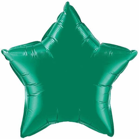 50cm Star Emerald Green Plain Foil #12625 - Each (Unpkgd.)
