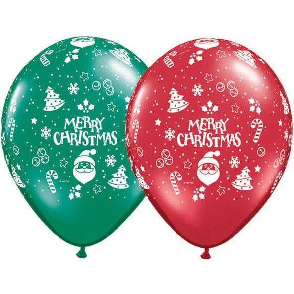 12cm Round Emerald & Ruby Christmas Ornaments-A-Round #16372 - Pack of 100 SPECIAL ORDER ITEM