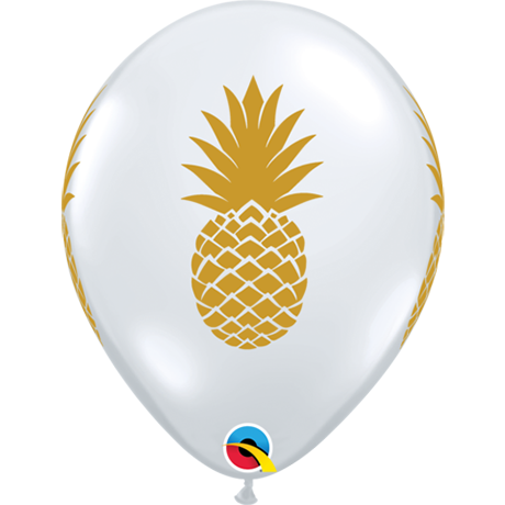 28cm Round Diamond Clear Pineapple #57440 - Pack of 50