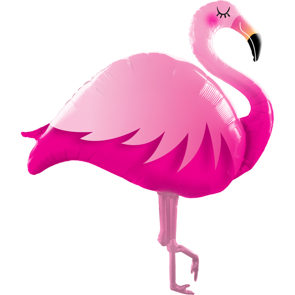 Shape Foil Pink Flamingo 115cm SW #57807 - Each (Pkgd.)