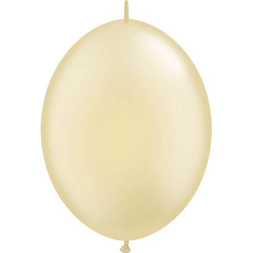 30cm Quick Link Pearl Ivory Qualatex Quick Link Balloons #65330 - Pack of 50 SPECIAL ORDER ITEM