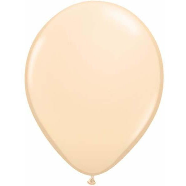 28cm Round Blush Qualatex Plain Latex #83081 - Pack of 25 SPECIAL ORDER ITEM