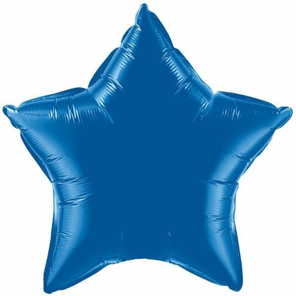 50cm Star Foil Dark Blue Plain Foil #86472 - Each (Unpkgd.)
