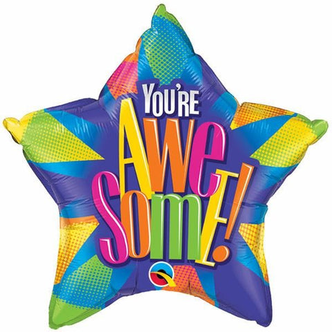 50cm Star Foil You're Awesome! Radiant #89997 - Each (Pkgd.)