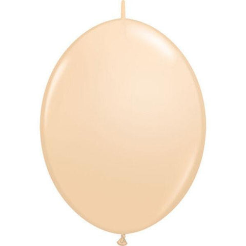 30cm Quick Link Blush Qualatex Quick Link Balloons #99871 - Pack of 50