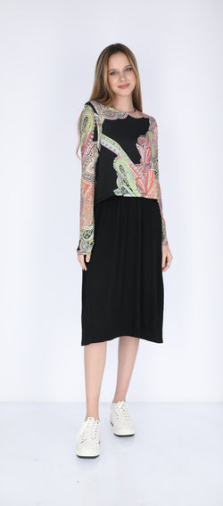 Nursing Dress / Paisley