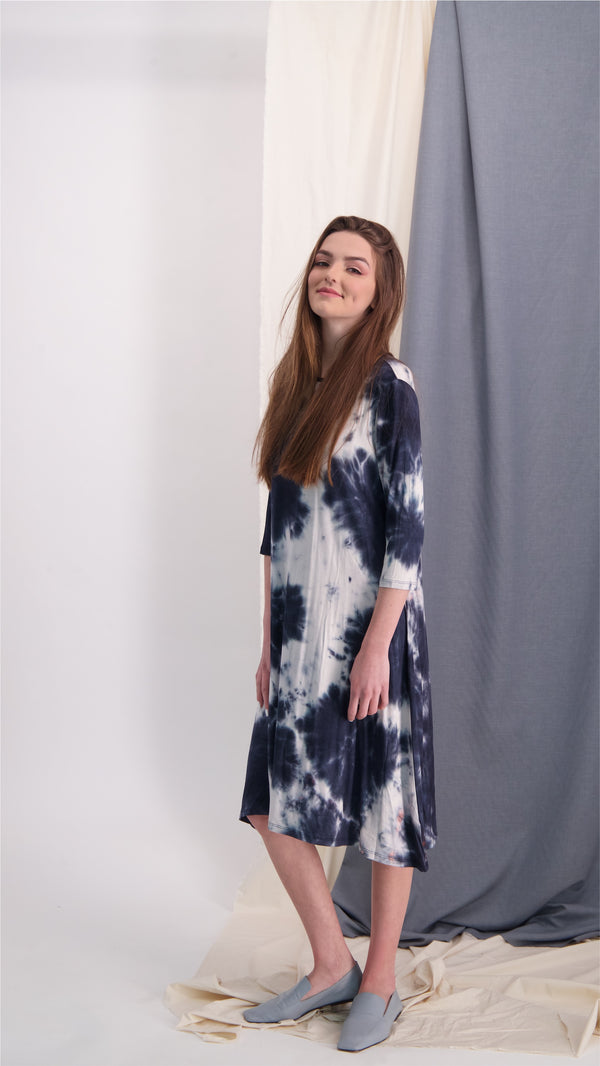 Collection Dress / Black Tie Dye
