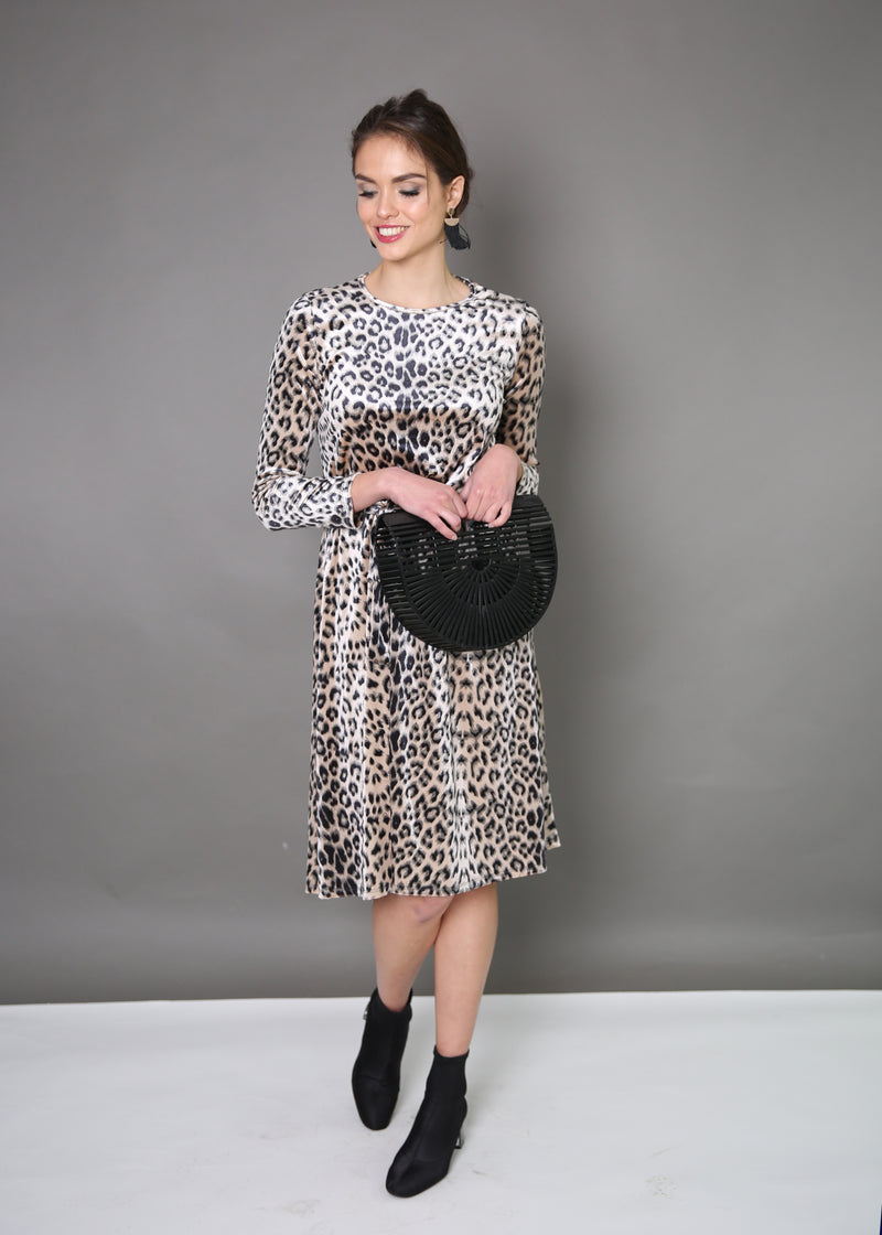 Velvet Collection Dress - Animal Prints