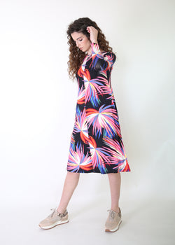 Collection Dress / Colorful Leafs