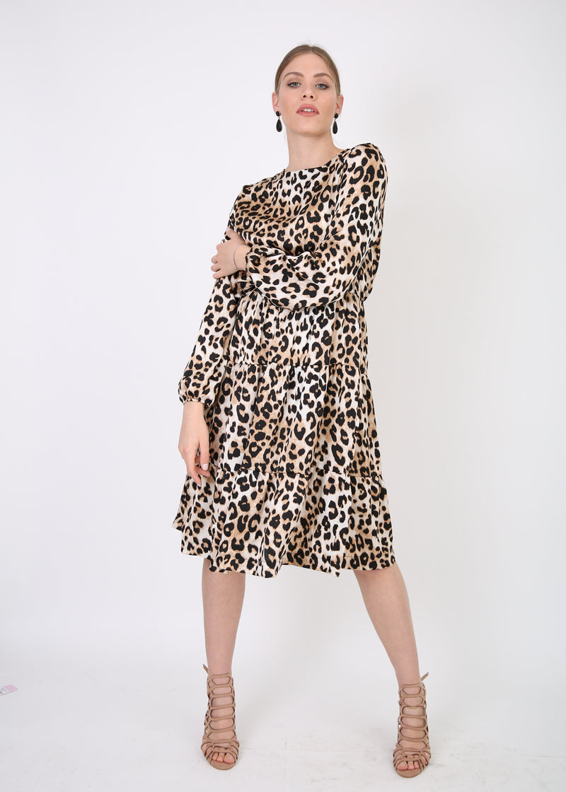 Layers Dress / Animal Print