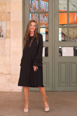 Bell Sleeve Dress (more colors available)