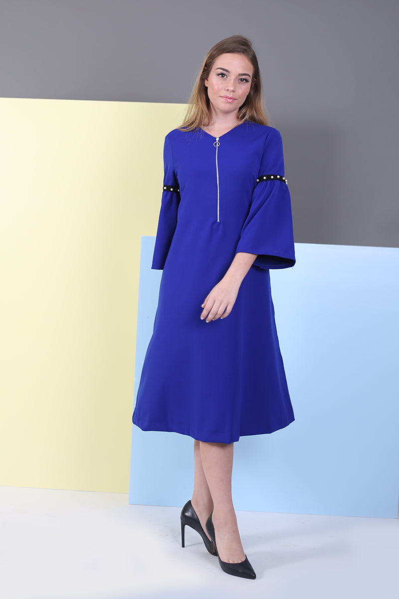 Pearl Sleeve Dress ( more colors available)