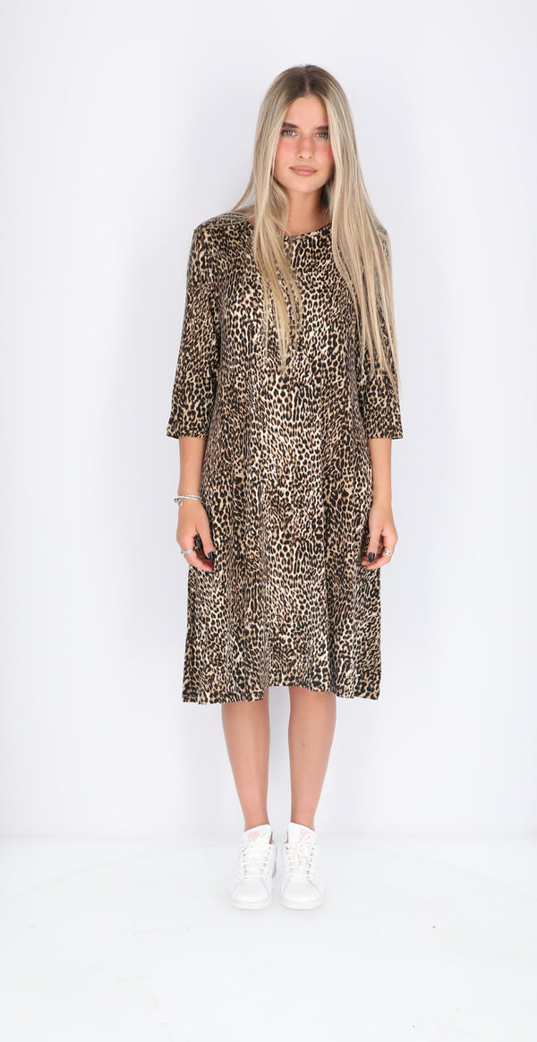 Collection Dress / Animal Print