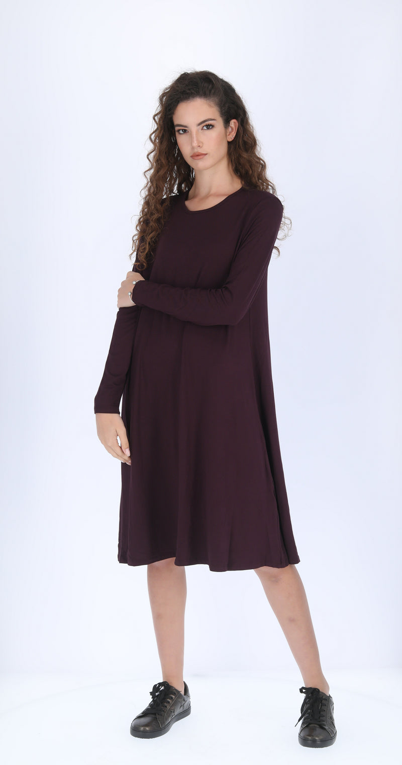 Collection Dress / Burgandy
