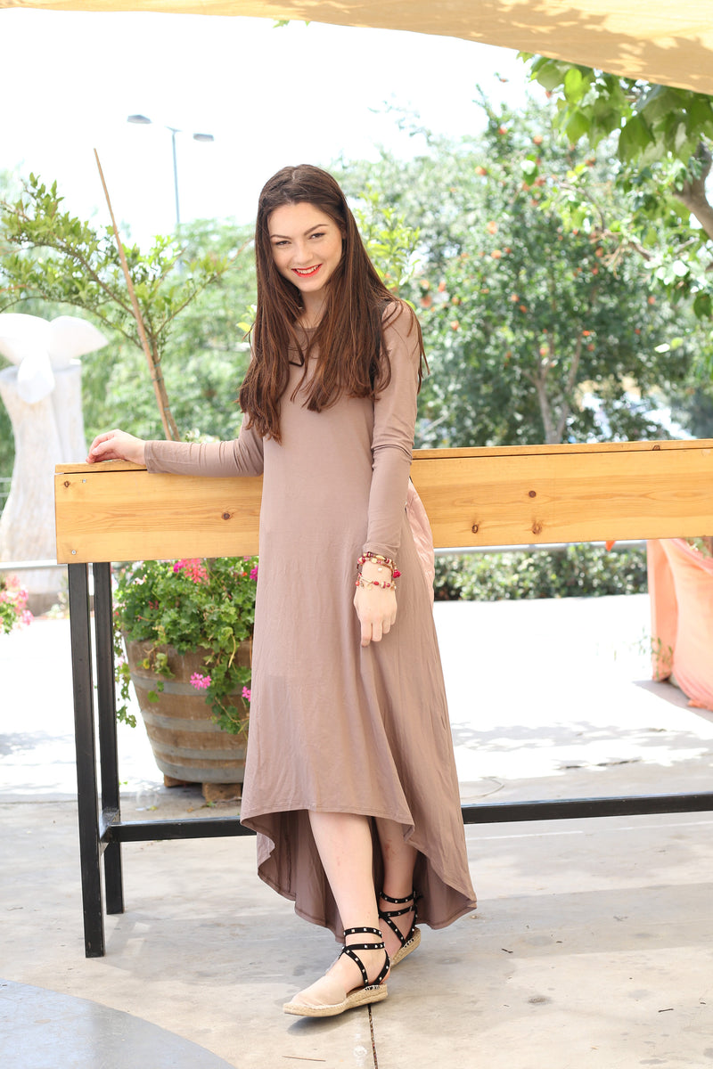 Solid High-Low Dress (more colors available)