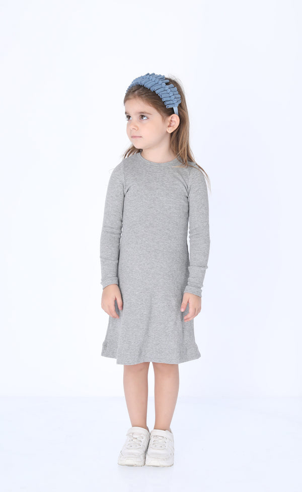 Girls Ribbed Dress