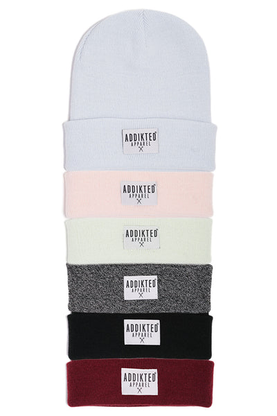 """White Patch"" Beanie"