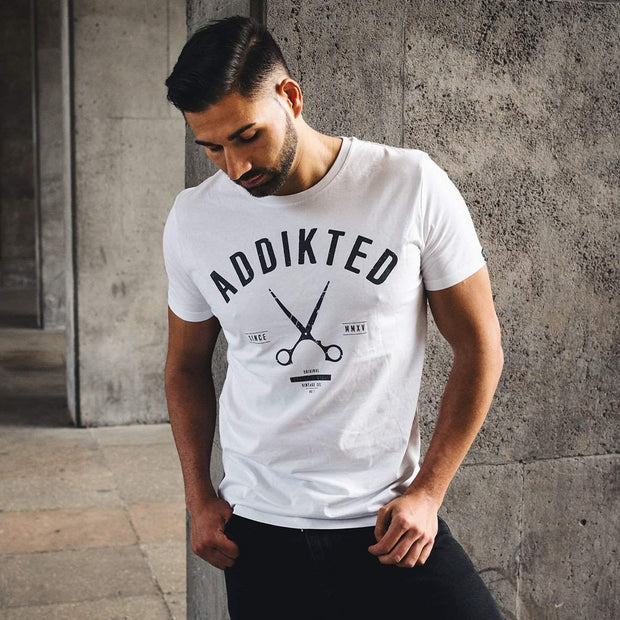 "Addikted Apparel:""Couture"" Shirt - weiß"