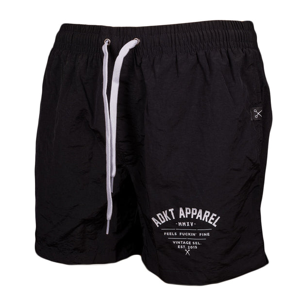 "Addikted Apparel:""ADKT"" Swim Shorts"