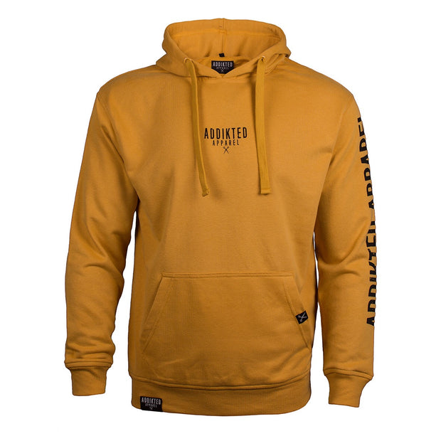 Addikted Apparel Yellow Basic Hoody