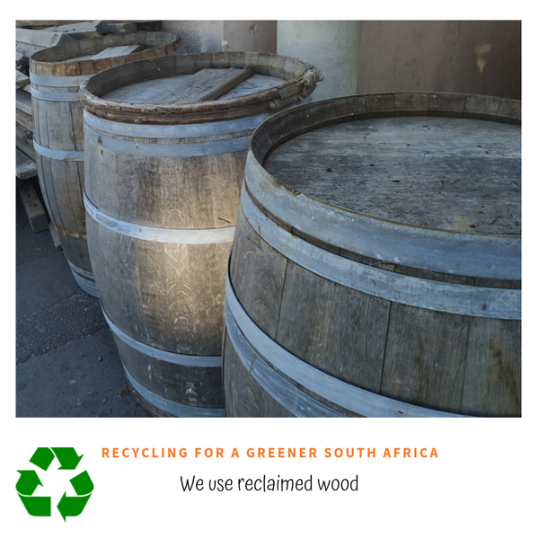 Craftemarket uses reclaimed wood, Recycling for a greener South Africa