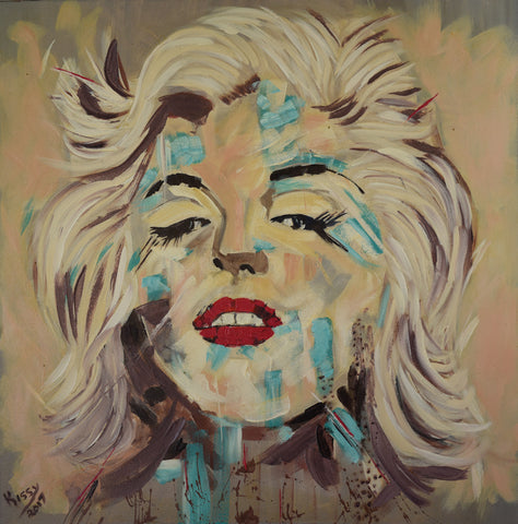 Marilyn - Oil Painting - Craft eMarket