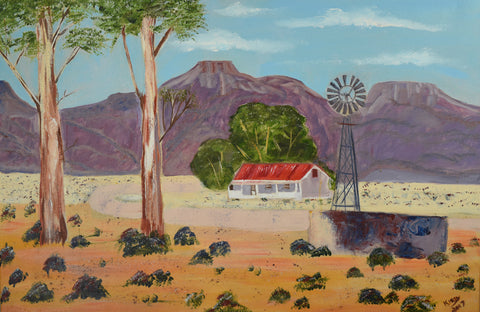 The Karoo - Oil Painting - CraftEMarket Pty Ltd