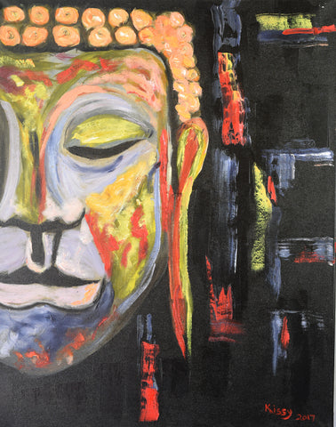 Meditation - Oil Painting - Craft eMarket