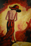 Walking into the light - Oil Painting by local artist - Craft eMarket