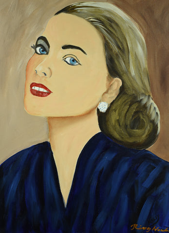 Princess Grace - Oil Painting by local artist - Craft eMarket