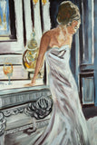 Going to the ball - Oil Painting by local artist - Craft eMarket