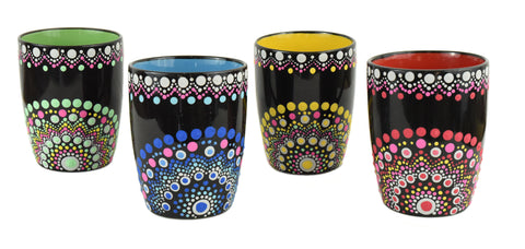 Hand-painted mugs - Craft eMarket