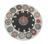 Clocks - Hand Painted Mandala Dot Patterns - Circle - Craft eMarket