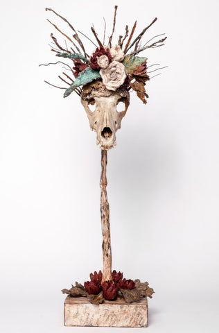 Dead Kitch - a metal sculpture by local artist. Available at Craft eMarket.