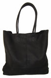 Leather Happy Shopper. Available in Black, Brown, Toffee or Grey - Craft eMarket