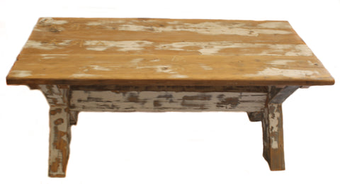 Rustic Wooden Coffee Table - CraftEMarket Pty Ltd