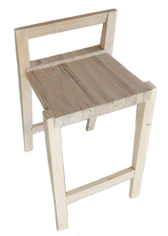 Bar Chair with back rest - CraftEMarket Pty Ltd