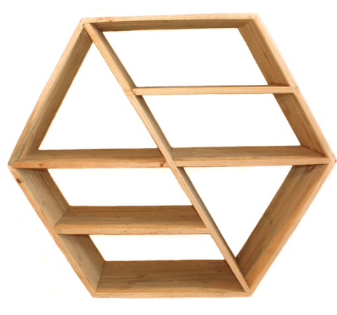 Giant Hexagon Shelf - Craft eMarket
