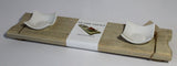 Sushi Serving Board - Handmade from Recycled Wood - Craft eMarket