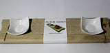 Sushi Serving Board - Handmade from Recycled Wood - CraftEMarket Pty Ltd