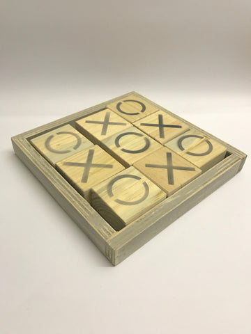 Wooden OXO Coffee Table Game - Craft eMarket