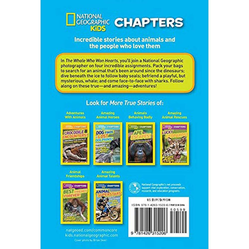 The Whale Who Won Hearts (National Geographic Kids Chapters)-BuyBookBook