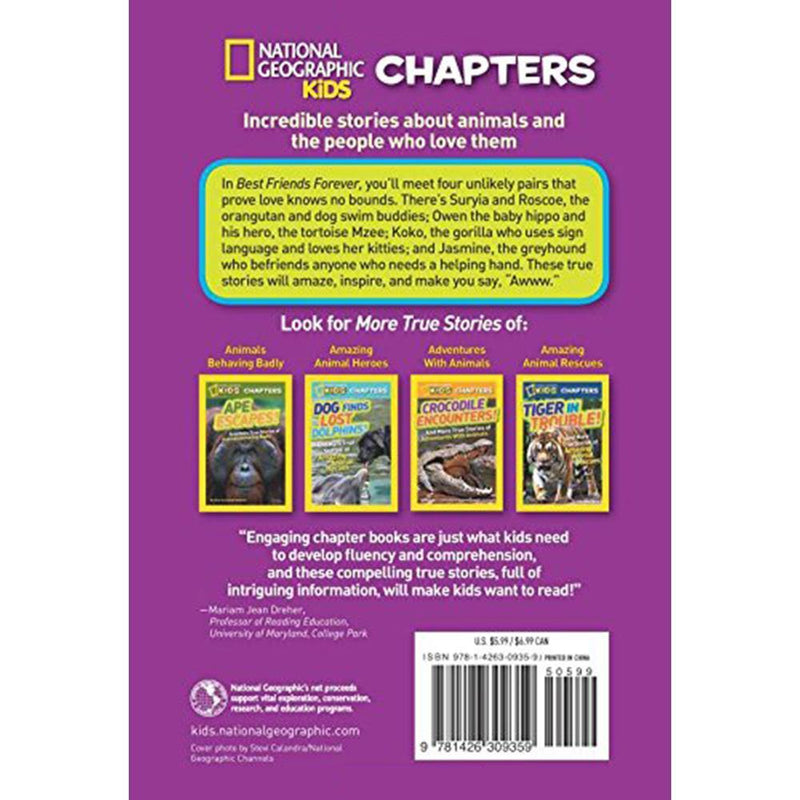 Best Friends Forever (National Geographic Kids Chapters)-BuyBookBook
